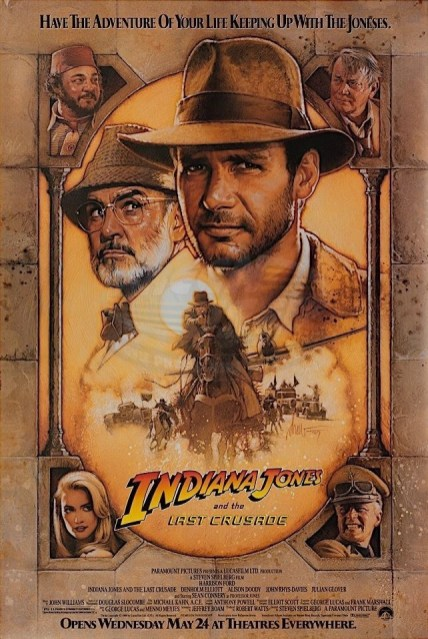 Official Poster for INDIANA JONES AND THE LAST CRUSADE (1989)
