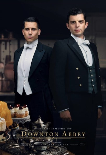 Rob James-Collier and Michael C. Fox co-star in DOWNTON ABBEY The Movie (2019)
