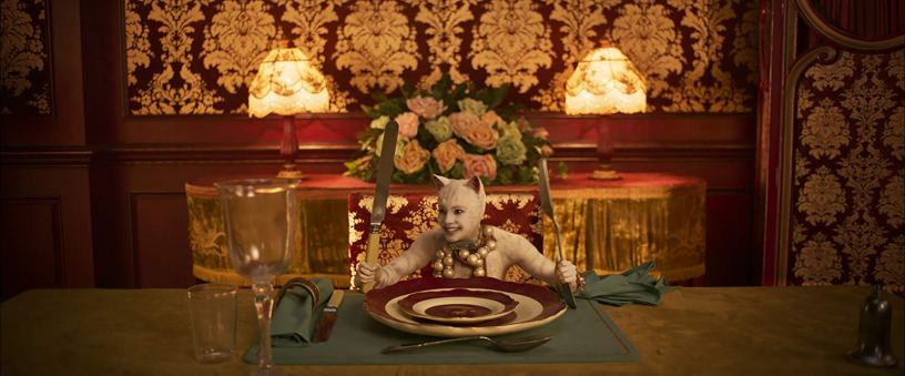 Francesca Hayward plays Victoria in the film adaptation of the musical CATS (2019)