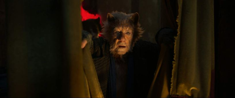 Ian McKellen plays Gus The Theatre Cat in the film adaptation of the musical CATS (2019)
