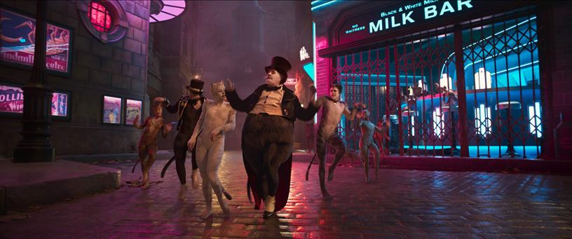 James Corden plays Bustopher Jones in the film adaptation of the musical CATS (2019)
