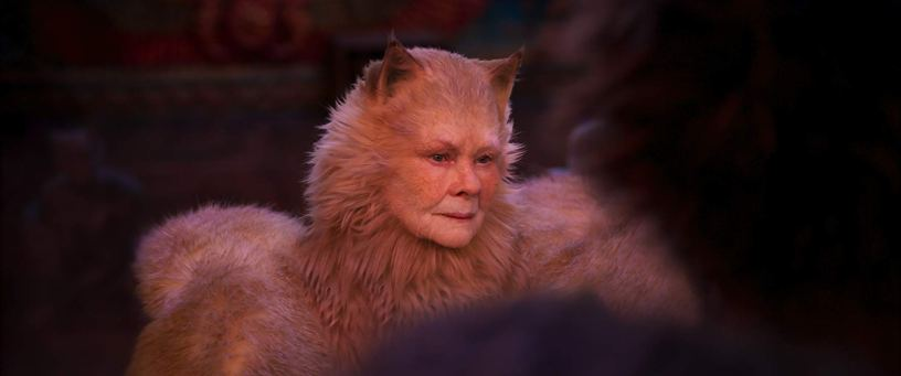 Judi Dench plays Old Deuteronomy in the film adaptation of the musical CATS (2019)