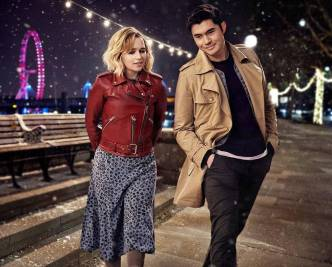 Emilia Clarke and Henry Golding star in LAST CHRISTMAS (2019)
