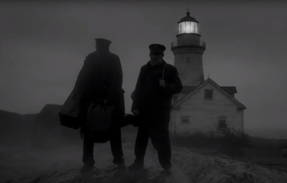Robert Pattinson and Willem Dafoe star in writer/director Robert Eggers' THE LIGHTHOUSE (2019)