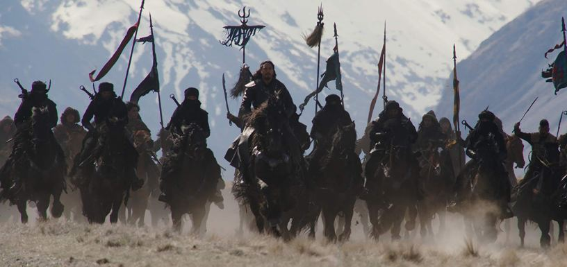 Jason Scott Lee leads the battle charge in Disney's live action remake of MULAN (2020)