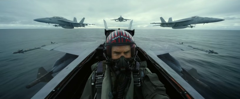 Tom Cruise is back in the cockpit for TOP GUN: MAVERICK (2020)