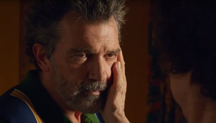 Antonio Banderas plays an aging director in Pedro Almodóvar's semi-autobiographical film PAIN AND GLORY (2019)