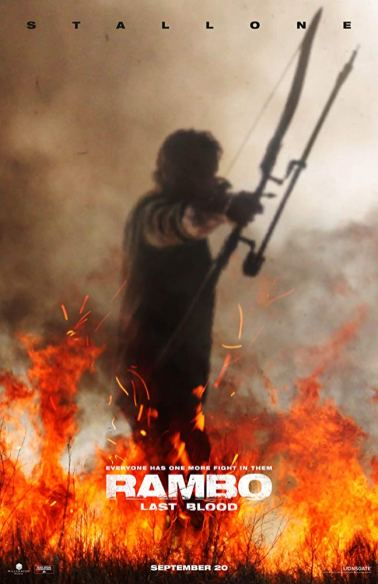 One Sheet Poster for RAMBO: LAST BLOOD (2019)