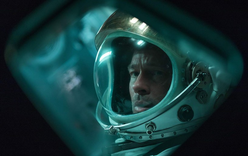 Brad PItt stars in James Gray's space epic AD ASTRA (2019)