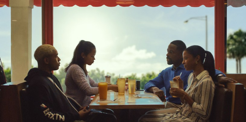 Kelvin Harrison Jr., Taylor Russell, Sterling K. Brown and Renée Elise Goldsberry star in writer/director Trey Edward Shults family drama WAVES (2019)