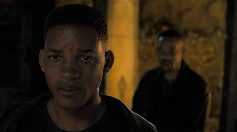 Will Smith stars as younger and older versions of himself in the Ang Lee thriller GEMINI MAN (2019)