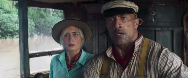Emily Blunt and Dwayne Johnson star in Walt Disney Studios' JUNGLE CRUISE (2020)