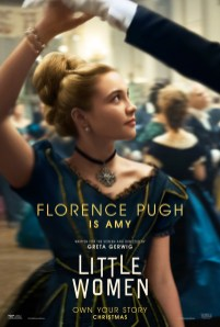 Florence Pugh co-stars as Amy in Greta Gerwig's adaptation of LITTLE WOMEN (2019)