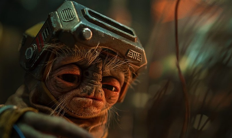 Babu Frik is a new creature in STAR WARS: THE RISE OF SKYWALKER (2019)