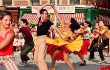 David Alvarez (Bernardo) and Ariana DeBose (Maria) co-star in Steven Spielberg's adaptation of WEST SIDE STORY (2020)
