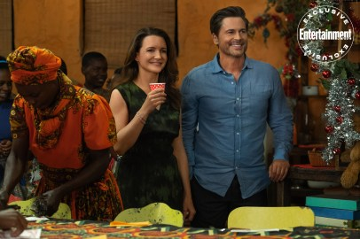 Kristin Davis and Rob Lowe star in Netflix's Africa-set Christmas romance HOLIDAY IN THE WILD (2019)