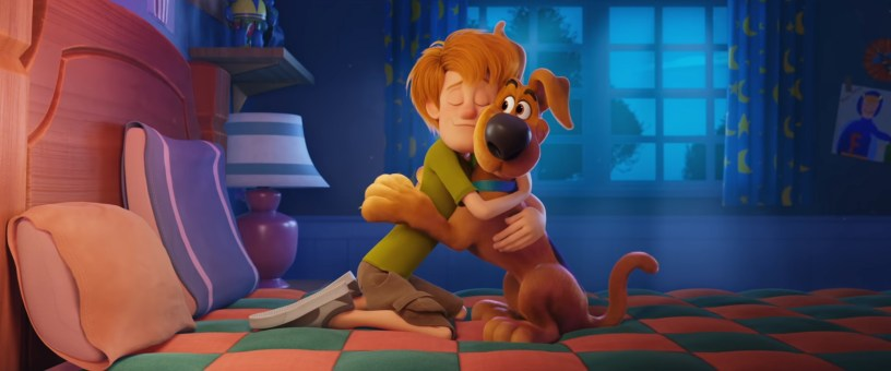 The voices of Iain Armitage (Young Shaggy) and Frank Welker (Scooby-Doo) co-star in the new animated feature SCOOB! (2020)
