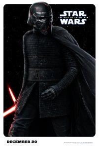 Kylo Ren Character Poster for STAR WARS: THE RISE OF SKYWALKER (2019)