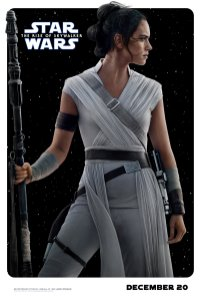 Rey Character Poster for STAR WARS: THE RISE OF SKYWALKER (2019)