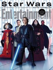 Cast of Star Wars Prequels in Entertainment Weekly series for STAR WARS: THE RISE OF SKYWALKER (2019)