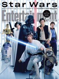 Cast of Star Wars Original Trilogy in Entertainment Weekly series for STAR WARS: THE RISE OF SKYWALKER (2019)