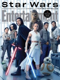 Cast of Star Wars Sequel Trilogy in Entertainment Weekly series for STAR WARS: THE RISE OF SKYWALKER (2019)