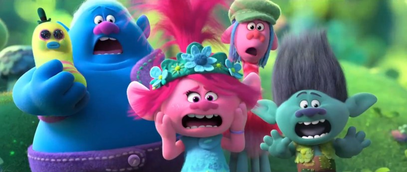 Anna Kendrick (Poppy) leads an all-star voice cast in the animated sequel TROLLS WORLD TOUR (2020)