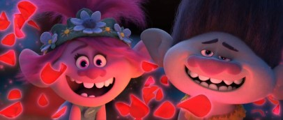 Anna Kendrick (Poppy) and Justin Timberlake (Branch) lead the all-star voice cast in the animated sequel TROLLS WORLD TOUR (2020)