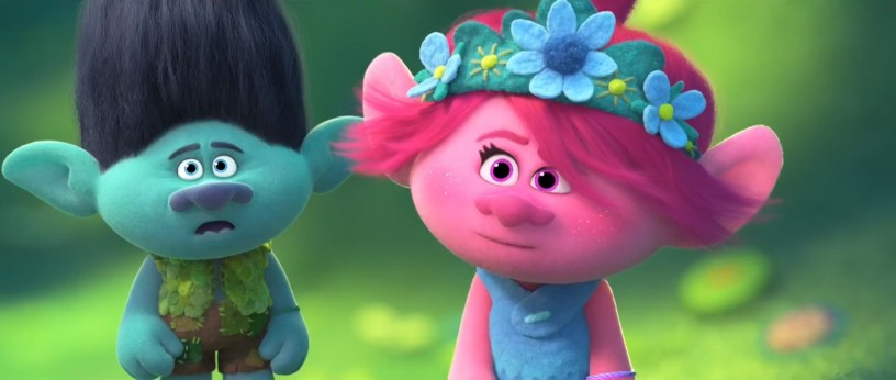 Justin Timberlake (Branch) and Anna Kendrick (Poppy) lead the all-star voice cast in the animated sequel TROLLS WORLD TOUR (2020)