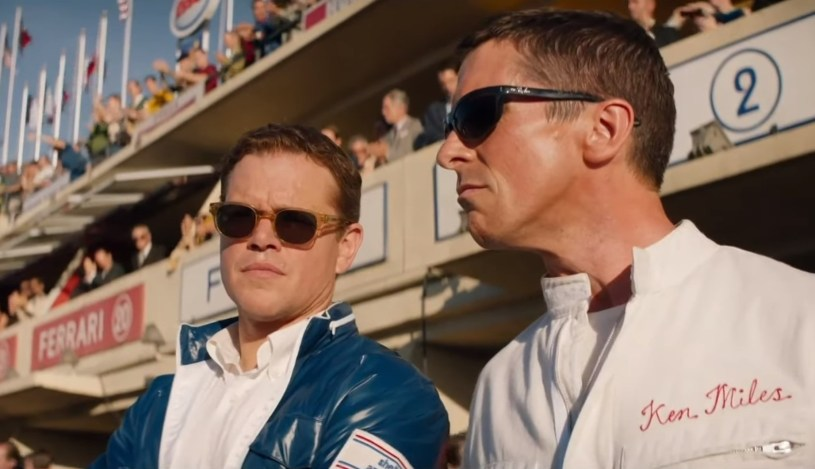 Matt Damon and Christian Bale star in the car racing true story FORD V FERRARI (2019)