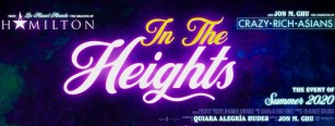 Title Banner for Lin-Manuel Miranda's IN THE HEIGHTS (2020)