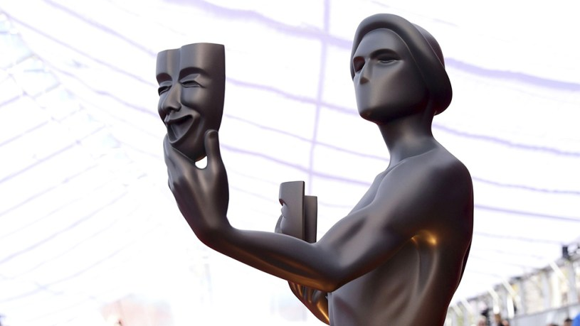 Statue of the Screen Actors Guild award.
