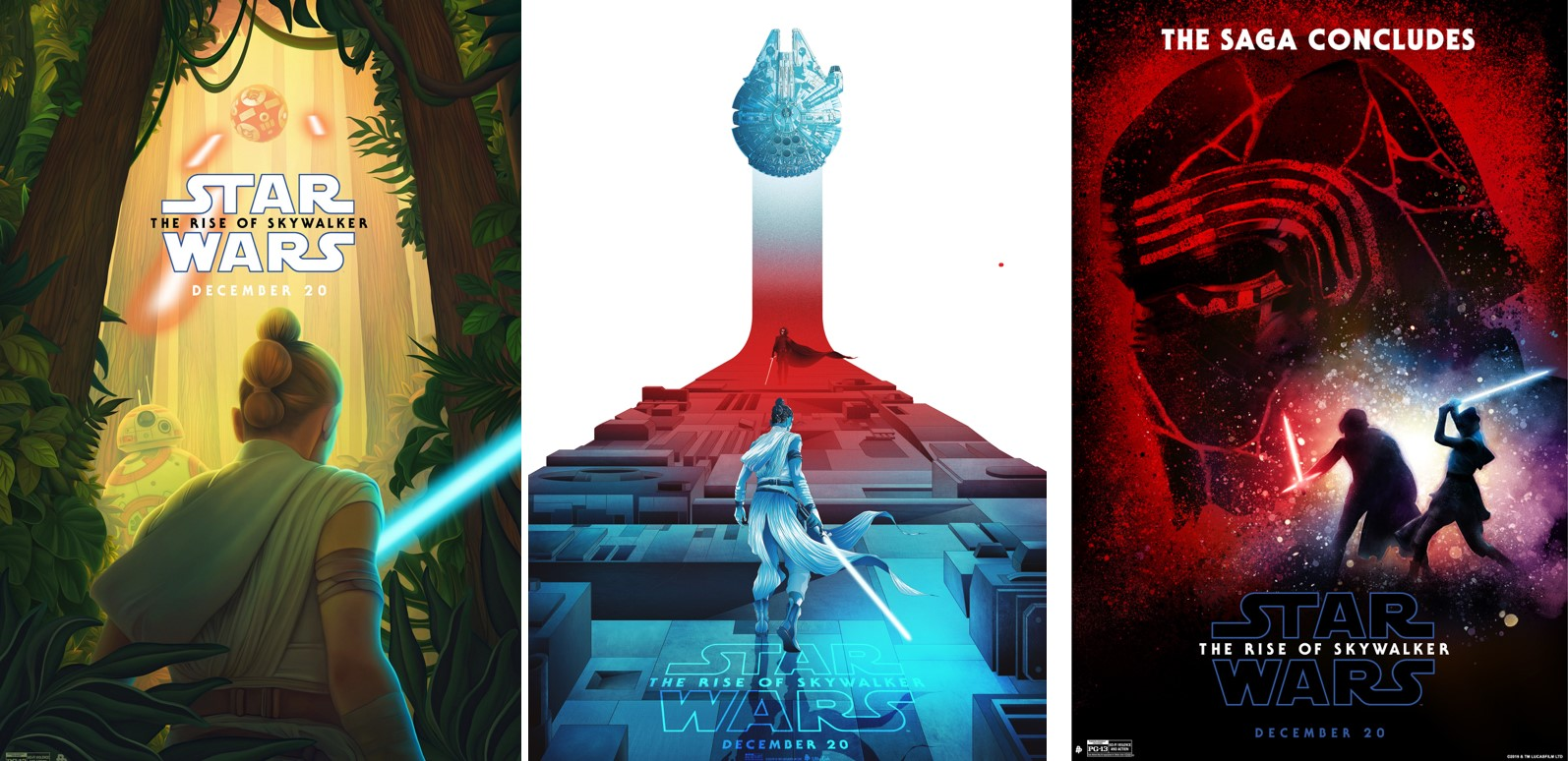 Seven Rise Of Skywalker Fan Art Posters Are Lucasfilm Approved Images I Can T Unsee That Movie Film News And Reviews By Jeff Huston