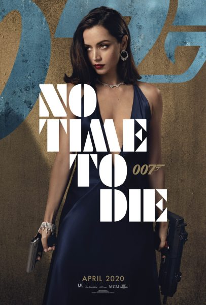 Character Poster for the newest Bond girl Paloma (Ana de Armas) in NO TIME TO DIE (2020)
