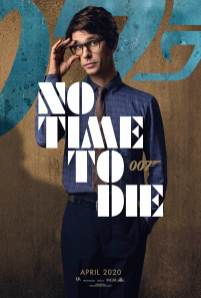 Character Poster for Bond tech guy Q (Ben Whishaw) in NO TIME TO DIE (2020)