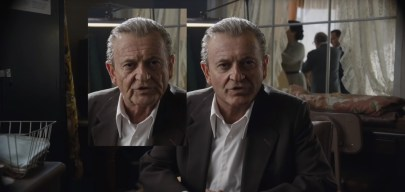 ILM's new de-aging technology applied to Joe Pesci in THE IRISHMAN (2019)
