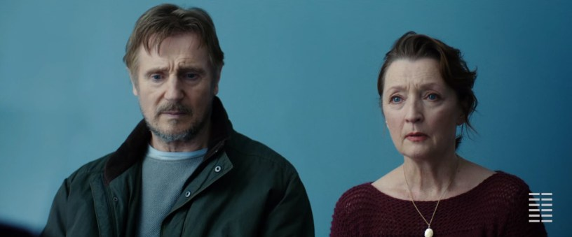 Liam Neeson and Lesley Manville star in ORDINARY LOVE (2020)