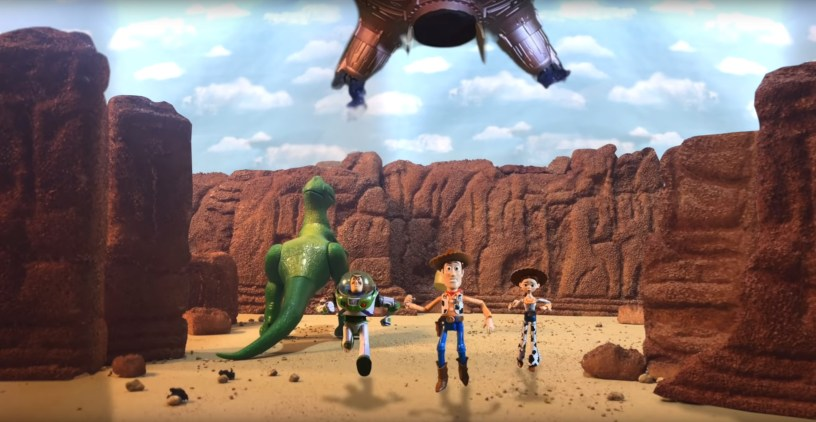 TOY STORY 3 IRL (In Real Life) is a stop-motion remake of the third TOY STORY film, by brothers Mason and Morgan McGrew