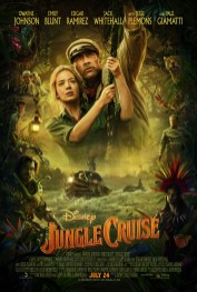 Official Movie Poster for Disney's family adventure JUNGLE CRUISE (2020)
