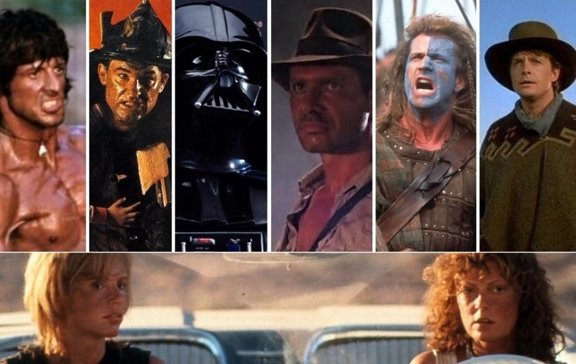 Summer Blockbuster 2020: May 22 - RAMBO II & III, BACKDRAFT (1991), STAR WARS ORIGINAL TRILOGY, INDY 2 & 3, BRAVEHEART (1995), BACK TO THE FUTURE PART III (1990), THELMA & LOUISE (1991)