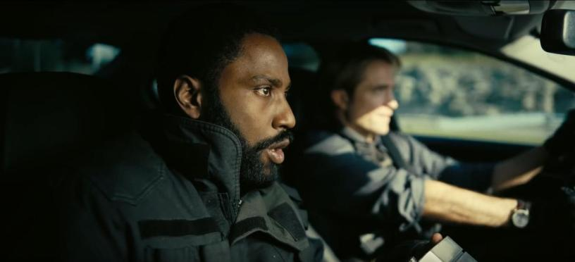 John David Washington and Robert Pattinson star in Christopher Nolan's TENET (2020)