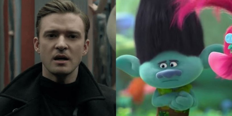 Justin Timberlake stars as the voice of Branch in Universal Studios' TROLLS WORLD TOUR (2020)
