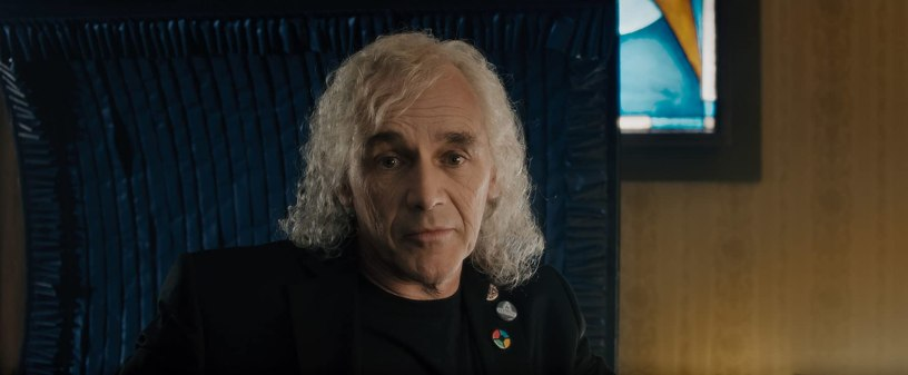Mark Rylance co-stars as OASIS creator James Halliday in Steven Spielberg's adaptation of READY PLAYER ONE (2018)