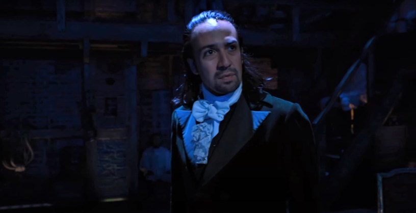 Lin-Manuel Miranda stars as Alexander Hamilton in his Tony Award winning production of HAMILTON, streaming on Disney+ beginning July 3, 2020.
