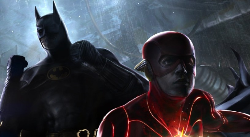 A sneak peek of concept art from the forthcoming DCEU adventure THE FLASH (2022)