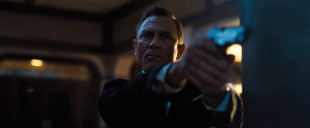 Daniel Craig stars as James Bond for the last time in NO TIME TO DIE (2020)