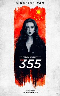 Bingbing Fan co-stars as Lin Mi Sheng in the female action-spy thriller THE 355 (2021)