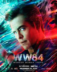 Character Poster for Steve Trevor (Chris Pine) in WONDER WOMAN 1984 (2020)