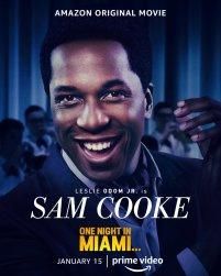 One Sheet Poster for Sam Cooke (Leslie Odom Jr.) for the Amazon Prime film ONE NIGHT IN MIAMI... (2020)