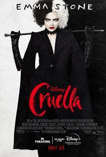 Official Poster for Walt Disney's villain origin story CRUELLA (2021)